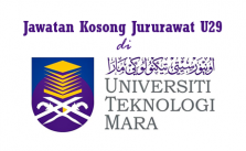 Jawatan Kosong Jururawat U29 di Universiti Teknologi Mara (UiTM)
