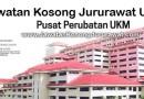 Jawatan Kosong Jururawat U29 di Pusat Perubatan UKM (PPUKM)