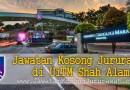 Jawatan Kosong Jururawat di UiTM Shah Alam