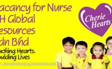 Vacancy for Nurse at CH Global Resources Sdn Bhd