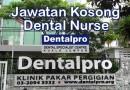 Jawatan Kosong Jururawat Pergigian di Dentalpro Group (M) Sdn Bhd