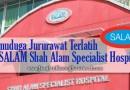 Temuduga Jururawat Terlatih di SALAM Shah Alam Specialist Hospital