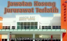 Jawatan Kosong Jururawat Terlatih (Staff Nurse) di Anson Bay Medical Centre