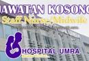 Jawatan Kosong Jururawat Staff Nurse Midwife di Umra Medical Services Sdn Bhd
