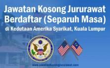 jawatan kosong jururawat berdaftar separuh masa kedutaan amerika syarikat kl