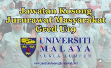 jawatan kosong jururawat masyarakat u19 di universiti malaya